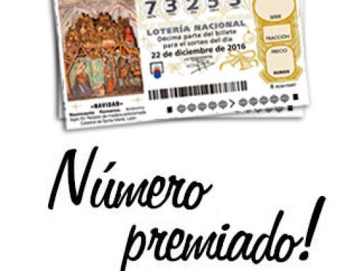Reintegro de la cantidad participada en la Lotería de Navidad