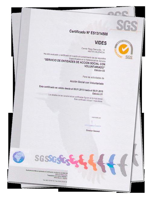 calidad - certificado