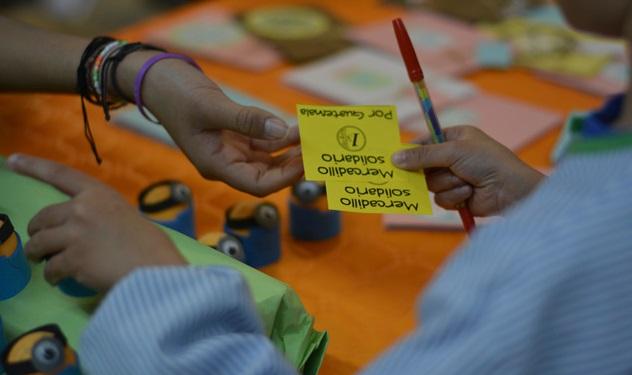 Jornada Solidaria en el Colegio María Auxiliadora de Zaragoza