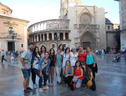 Convivencia de formación de voluntariado internacional en Valencia