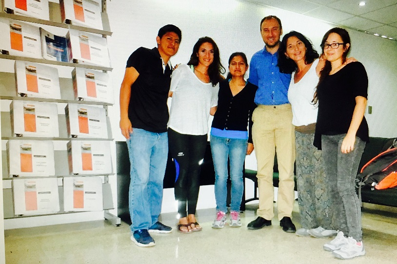 Presentación de VIDES en la Universidad de Oaxaca (México)