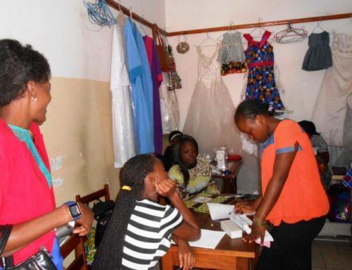 Proyecto de cooperativas textiles en R.D.Congo
