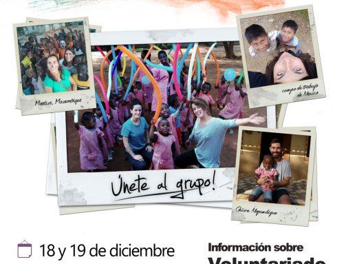 Stand Solidario en la Facultad de Educación de la Universidad de Zaragoza