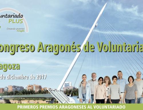 Participamos en el I Congreso Aragonés de Voluntariado