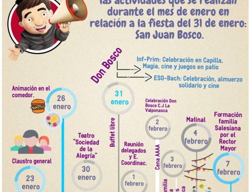 Celebrando el Día de Don Bosco: Almuerzo Solidario en Valencia