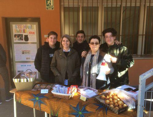 Campaña fallera en Valencia a favor de VIDES