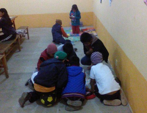 Así se trabaja en el Centro Juvenil La Natividad