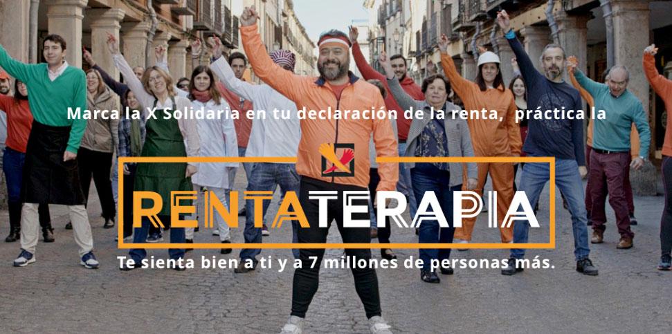 Rentateparia: En tu declaración de la renta marca la X Solidaria