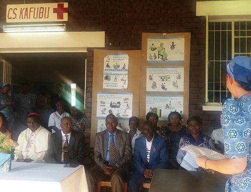 Inauguración de las nuevas instalaciones del Centro de Salud y Maternidad de Kafubu (R.D.Congo)