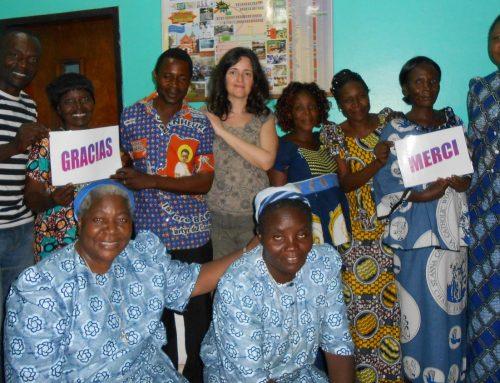 Visita a las cooperativas textiles y agrícola de las salesianas en R.D.Congo