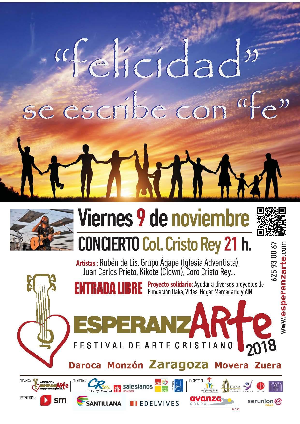Festival EsperanzARTE 2018 a favor de VIDES