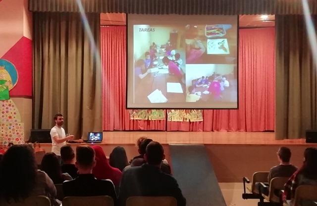 Charla en el Colegio María Auxiliadora de Zaragoza
