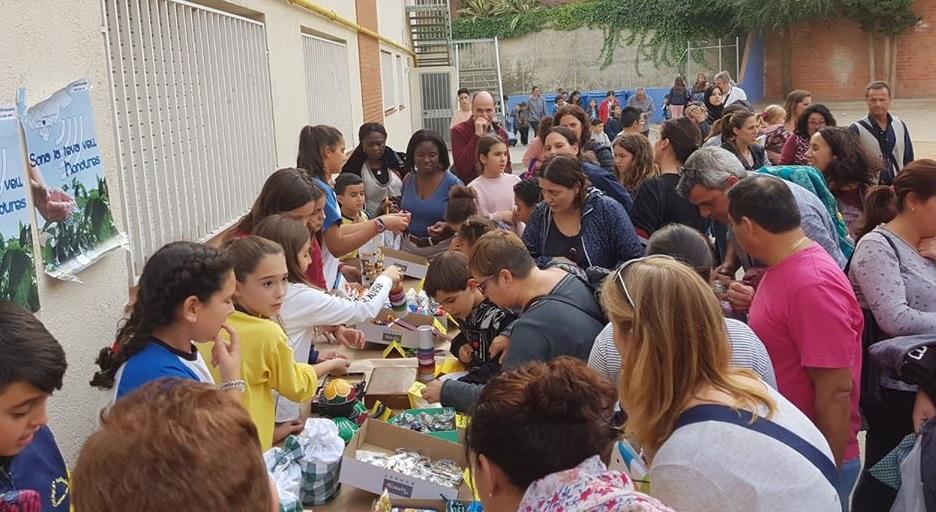Evento solidario en el Colegio de Terrasa