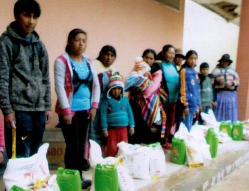 Novedades del programa de apadrinamientos en Bolivia