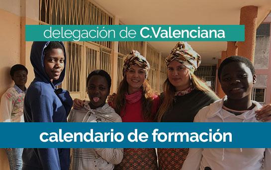 Curso de Formación 2018/2019 en la delegación de C.Valenciana