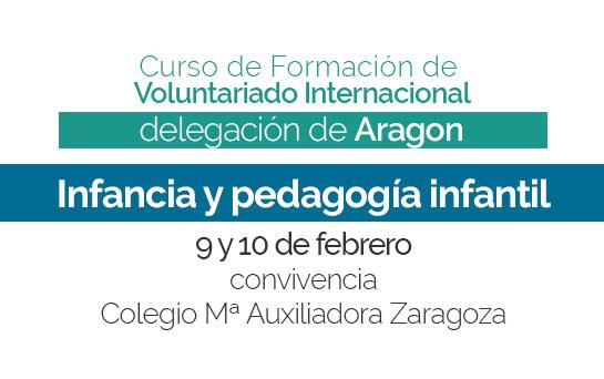 Tercera sesión del Curso de Formación 2018-2019 en Aragón