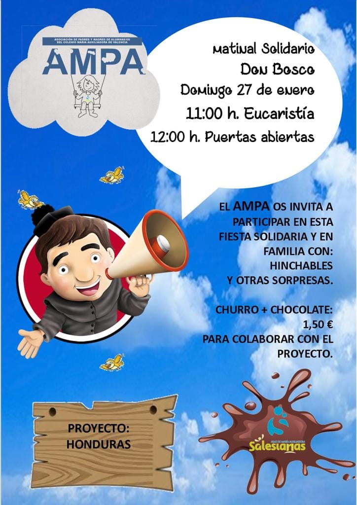 Stand de VIDES en el Matinal Don Bosco en Valencia