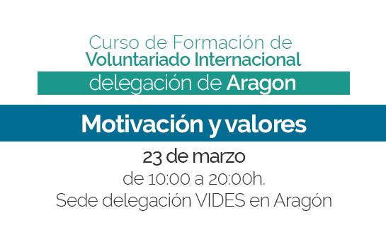 Cuarta sesión del Curso de Formación 2018-2019 en Aragón