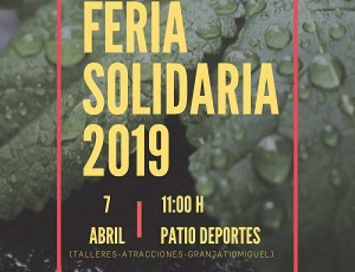 Feria Solidaria en el Colegio Mª Auxiliadora de Valencia