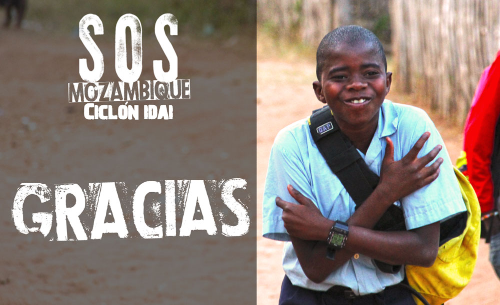 Gracias por vuestra colaboración para apoyar a las salesianas de Mozambique