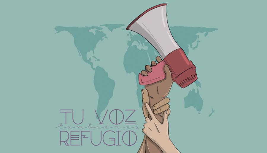 Tu voz también es refugio – Día mundial de las personas refugiadas
