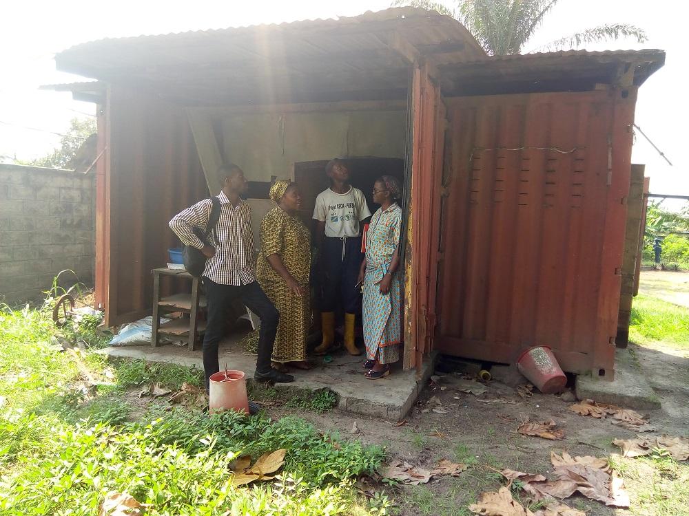 Iniciativa de acuaponía en R.D.Congo