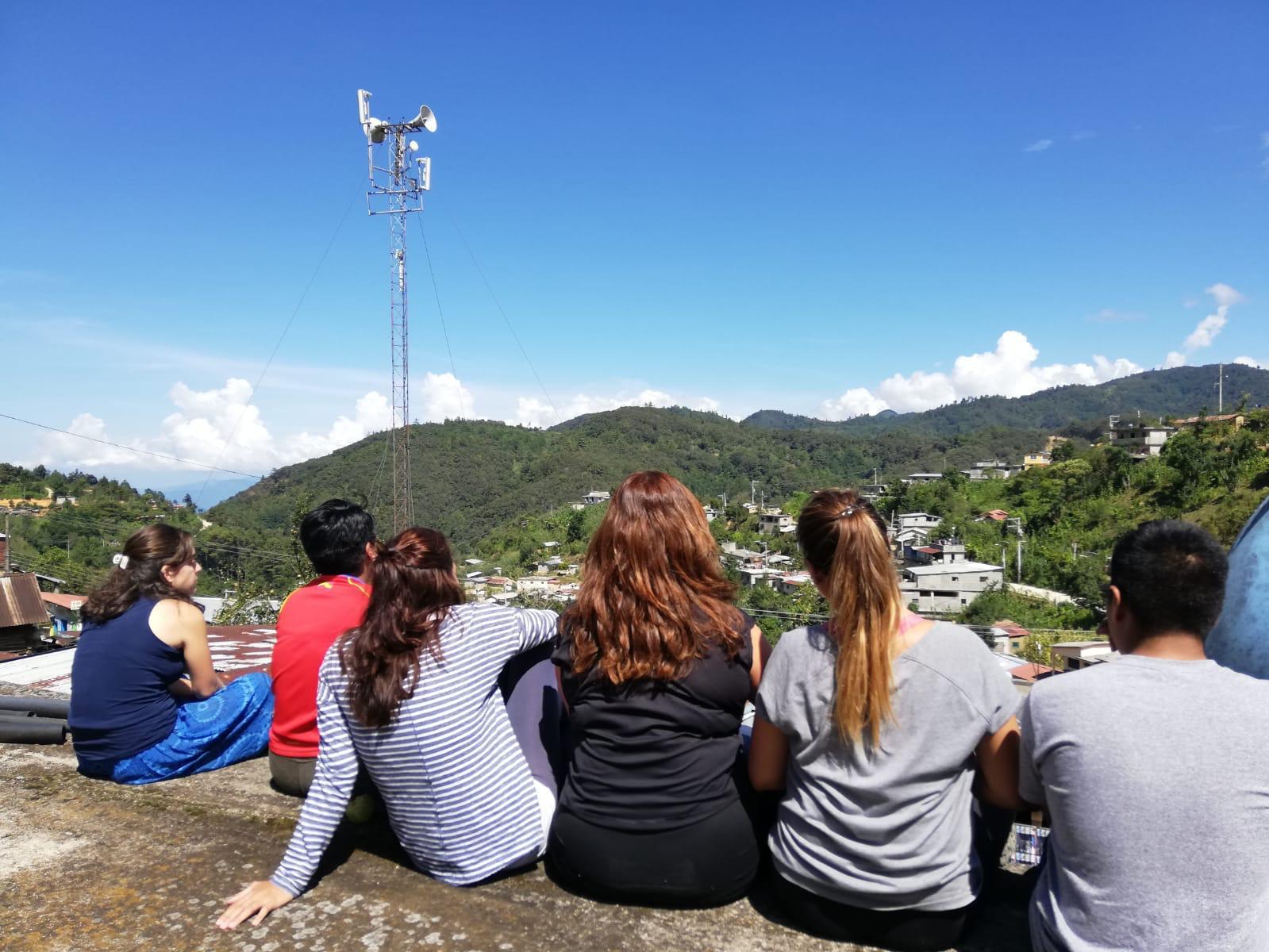 Las voluntarias se integran en la comunidad de Tepantlali