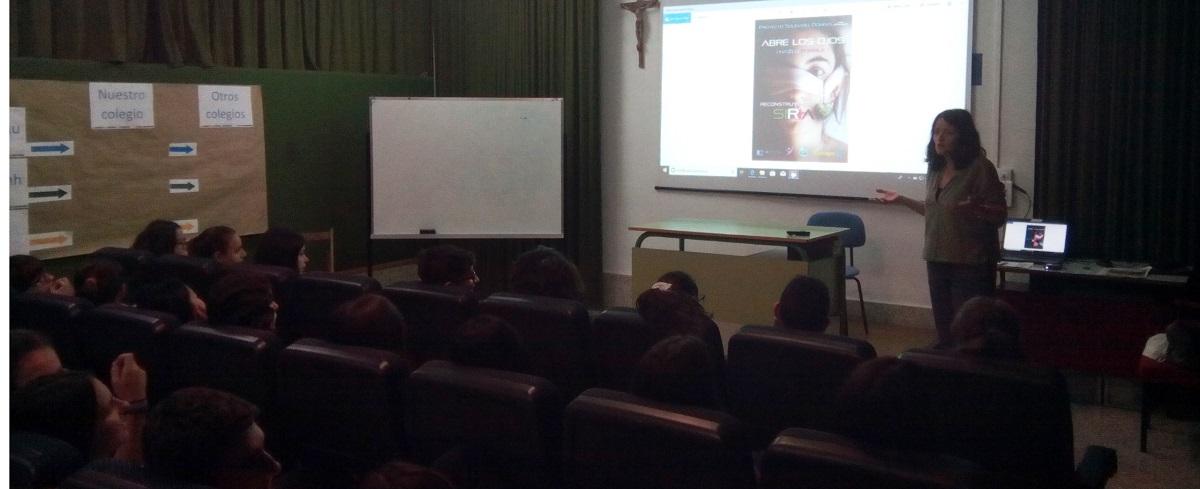 Presentamos la Campaña 2019 – 2020 en el colegio Mª Auxiliadora de Valencia