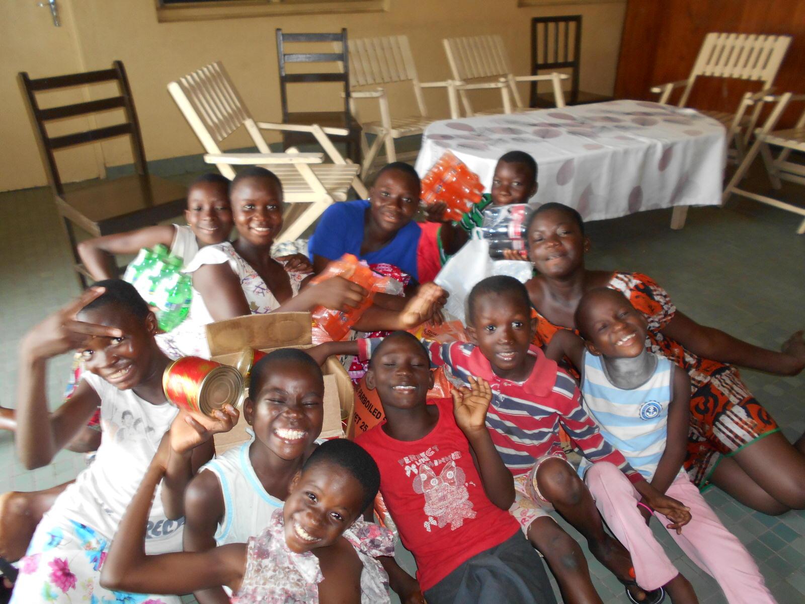Programa de apadrinamientos en Costa de Marfil