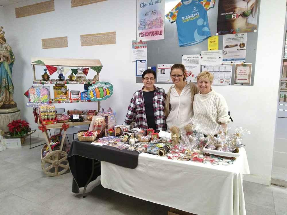 Stand navideño de VIDES en el Colegio María Auxiliadora de Valencia: del 12 al 19 de diciembre