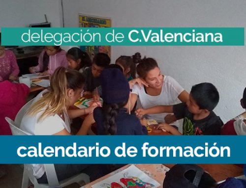 Curso de Formación 2019/2020 en la delegación de C.Valenciana