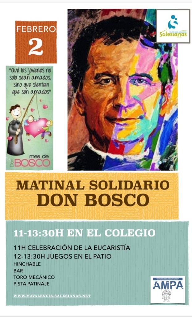 Actividades en favor del proyecto de Siria en el Matinal Don Bosco en Valencia