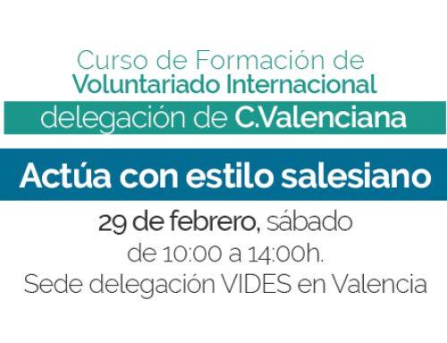 Tercera sesión del curso de formación en C.Valenciana