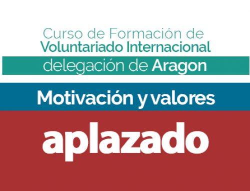 Cuarta sesión del curso de formación en Aragón