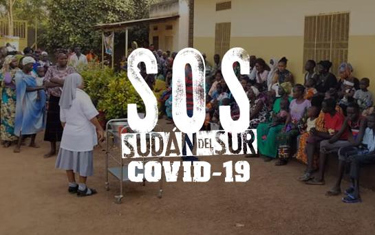 Actividades de sensibilización sobre COVID-19 en el dispensario de Wau