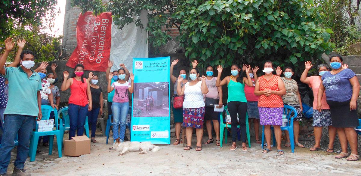 Comienza el proyecto de letrinas aboneras en El Salvador, financiado por el Ayuntamiento de Zaragoza