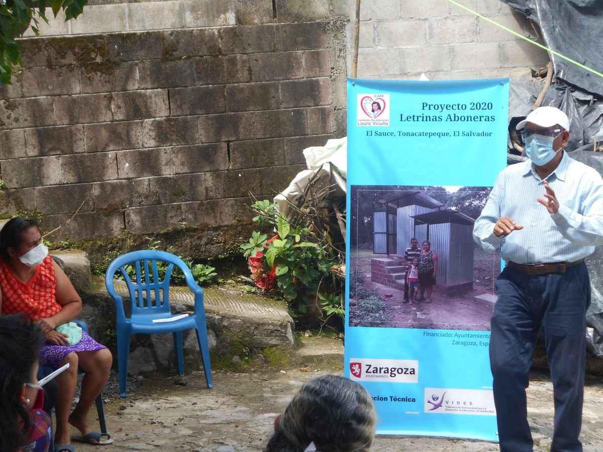 Avanza el proyecto de letrinas aboneras en El Salvador