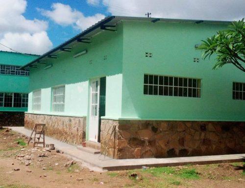 Nueva sede de la cooperativa textil Umoja (R.D.Congo), financiada por la Diputación de Valencia