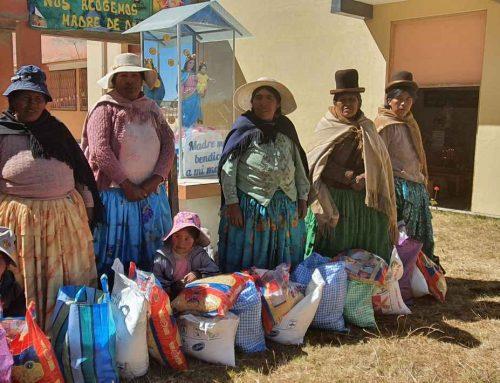 Apadrinamientos en Carabuco: gran ayuda para muchas familias en tiempos de pandemia