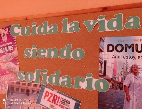 Almuerzo solidario en Colegio María Auxiliadora de Valencia