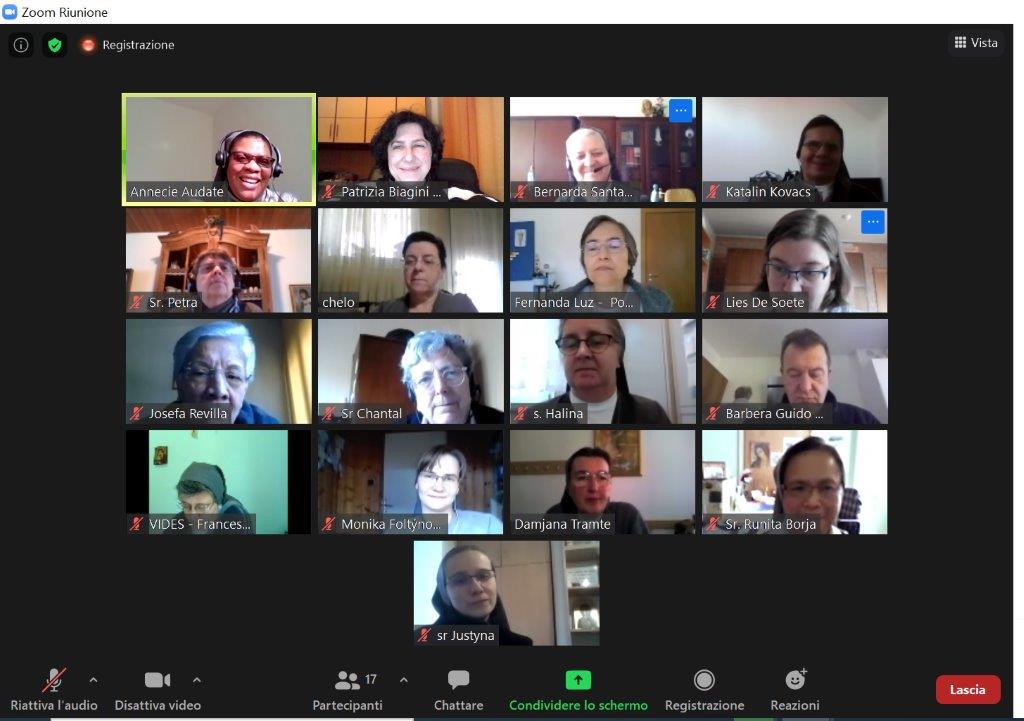 Encuentro de delegadas de Europa de VIDES Internacional