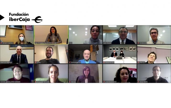 Fundación Bancaria iberCaja y Fundación CAI colaboran otro año más con VIDES