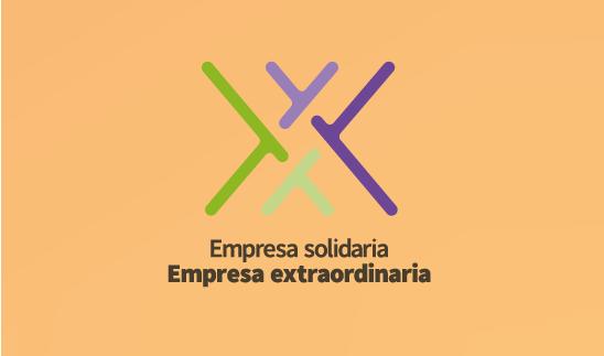 Marca la casilla «Empresa Solidaria»