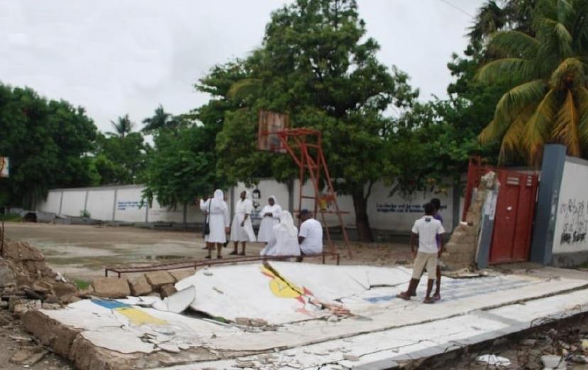 Las Salesianas de Haití se organizan para ayudar a la población más afectada por el terremoto